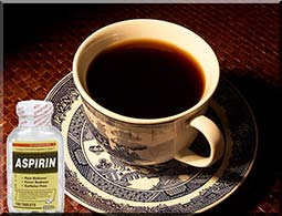 Asprin & coffee